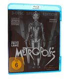 Metropolis bluray. BERLIN, GERMANY - APRIL 2, 2015: The 1927 German expressionist movie Metropolis by Fritz Lang has been recently restored to its full original royalty free stock photos