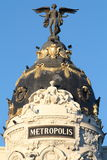 Metropolis Building Stock Photo