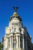Metropolis building, Madrid Stock Photos