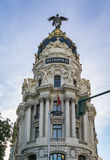 Metropolis Building, Madrid Royalty Free Stock Photos