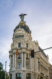 Metropolis Building, Madrid Stock Images