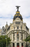 Metropolis Building, Madrid Royalty Free Stock Photo