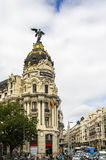 Metropolis Building, Madrid Royalty Free Stock Photos