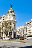 Metropolis building, Madrid, Spain Stock Photography