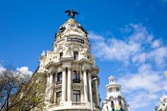 Metropolis building, Madrid, Spain Stock Photos