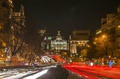 Metropolis building at Madrid, Spain Royalty Free Stock Photo