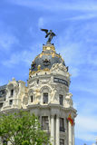 Metropolis Building, Madrid, Spain Royalty Free Stock Photography