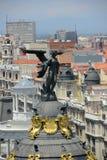 Metropolis Building, Madrid, Spain Stock Photo