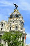 Metropolis Building, Madrid, Spain Stock Image