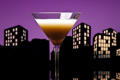 Metropolis coffee Martini cocktail Royalty Free Stock Images