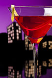 Metropolis Cosmopolitan Cocktail Stock Images