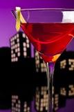 Metropolis Cosmopolitan Cocktail Stock Images