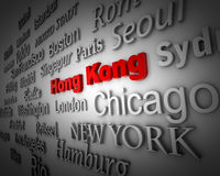 Metropolis Hong Kong Royalty Free Stock Photo