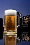 Metropolis lager beer Stock Image