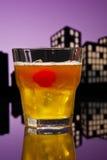 Metropolis Mai Tai cocktail Stock Photo