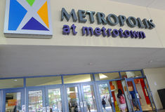Metropolis at Metrotown. Commonly referred to as Metrotown or Metro, and formerly known as Metrotown Centre, or Eaton Centre Metrotown is a four-storey shopping stock images