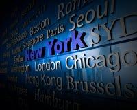 Metropolis New York Royalty Free Stock Photography