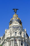 Metropolis Palace at Madrid Stock Image
