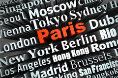 Metropolis Paris Royalty Free Stock Image