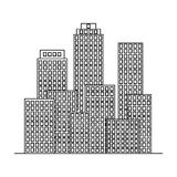 Metropolis.Realtor single icon in outline style vector symbol stock illustration web. Metropolis.Realtor single icon in outline style vector symbol stock Royalty Free Stock Images