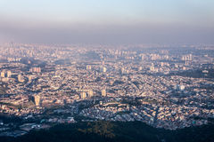 Metropolis Sao Paulo Brazil Stock Photography