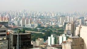 Metropolis Skyline Sao Paulo, Brazil.  stock image