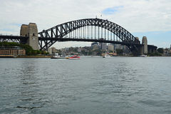 Metropolis  Sydney and the famous bridbe Darling Stock Images