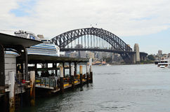 Metropolis  Sydney and the famous bridbe Darling Stock Image