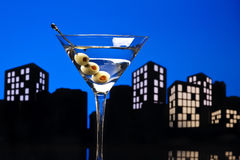 Metropolis Vodka Martini Stock Image