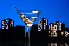 Metropolisvodka Martini Fotografering för Bildbyråer