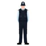 Metropolita funkcjonariuszów policji Brytyjski †'Realistyczny, szczegółowy Zdjęcia Royalty Free