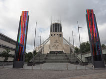 Metropolitaanse Kathedraal in Liverpool Royalty-vrije Stock Foto