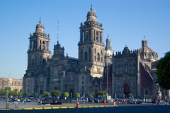 Metropolitaanse kathedraal, Mexico Stock Afbeelding
