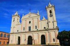 Metropolitaanse Kathedraal van Onze Dame van de Veronderstelling in Asuncion Royalty-vrije Stock Foto's
