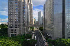Metropolitaanse Overheid Bulidings in Tokyo Royalty-vrije Stock Foto's