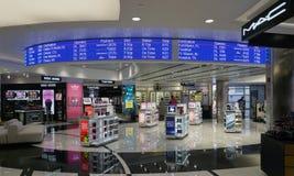 Metropolitaanse Wayne County Metro Airport (DTW) Deltahub de van Detroit Stock Foto's