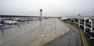 Metropolitaanse Wayne County Metro Airport (DTW) Deltahub de van Detroit royalty-vrije stock foto