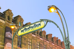 Metropolitain Fotografia Stock