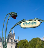 Metropolitain Royalty Free Stock Photo