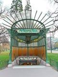 Metropolitain subterráneo Fotos de archivo libres de regalías