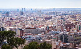Metropolitan area. Barcelona, Spain Stock Photo