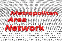 Metropolitan Area Network Photographie stock