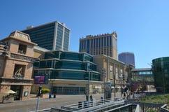 Atlantic City Boardwalk. Metropolitan area is transport, landmark and architecture Stock Image
