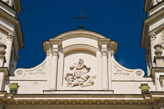 Metropolitan cathedral. In Iasi, Romania royalty free stock photos