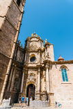 Metropolitan Cathedral Basilica of the Assumption of Our Lady of Valencia Stock Images
