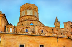 Metropolitan Cathedral-Basilica of the Assumption in Valencia, Spain Royalty Free Stock Photography