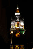 Metropolitan Cathedral Basilica of Saint Catherine of Alexandria in Cartagena de Indias at night Royalty Free Stock Photography