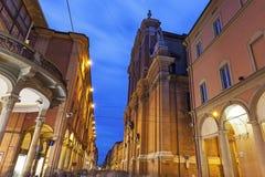 Metropolitan Cathedral Di SAN Pietro στη Μπολόνια Στοκ Φωτογραφίες