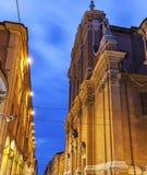 Metropolitan Cathedral di San Pietro in Bologna Royalty Free Stock Photo