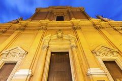 Metropolitan Cathedral di San Pietro in Bologna Stock Photo